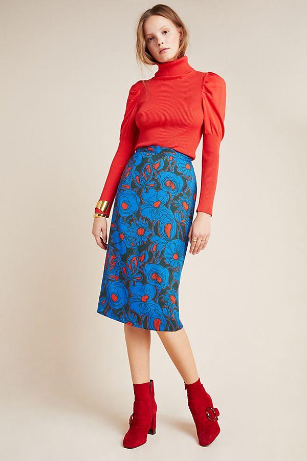 Slide View: 1: Poppy Pencil Skirt