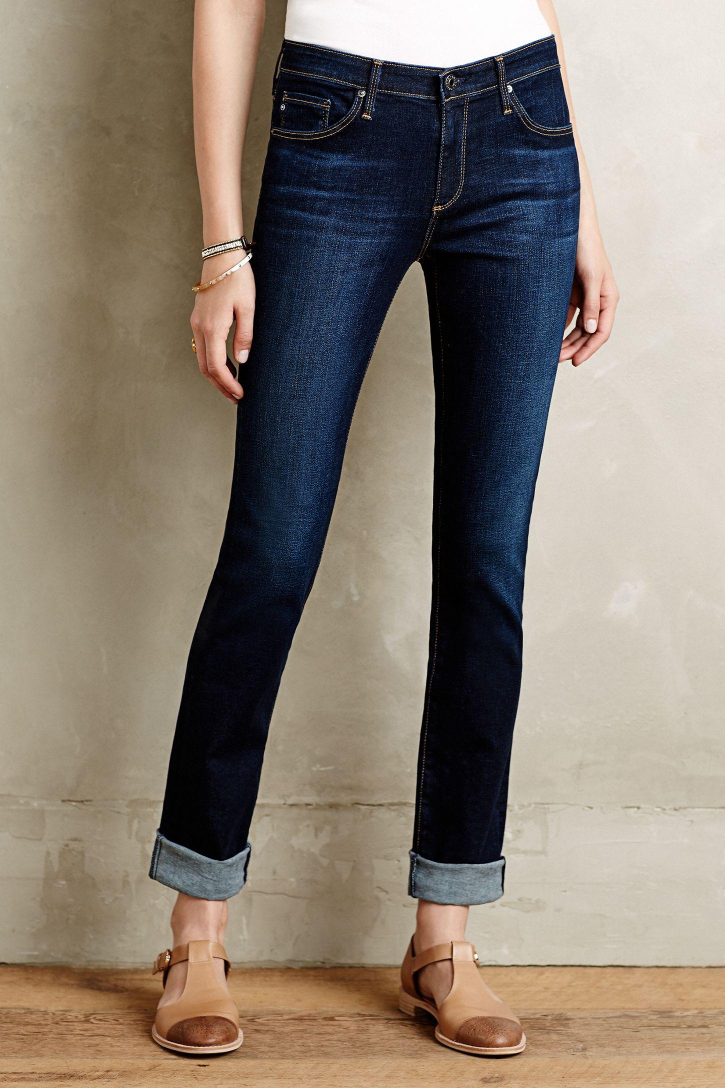 762ff032d117 AG Harper Straight-Leg Jeans
