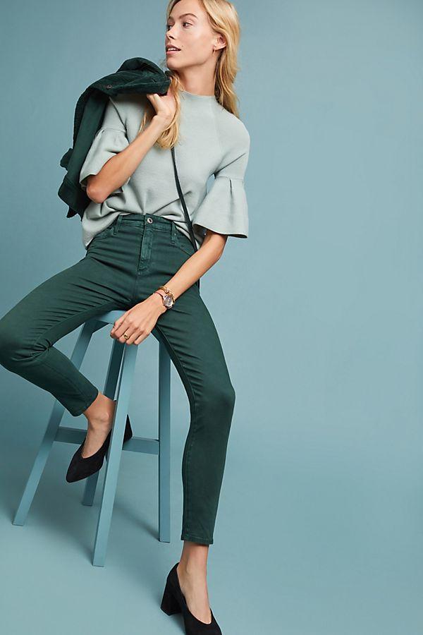 6789c3825d8 AG The Farrah High-Rise Skinny Jeans