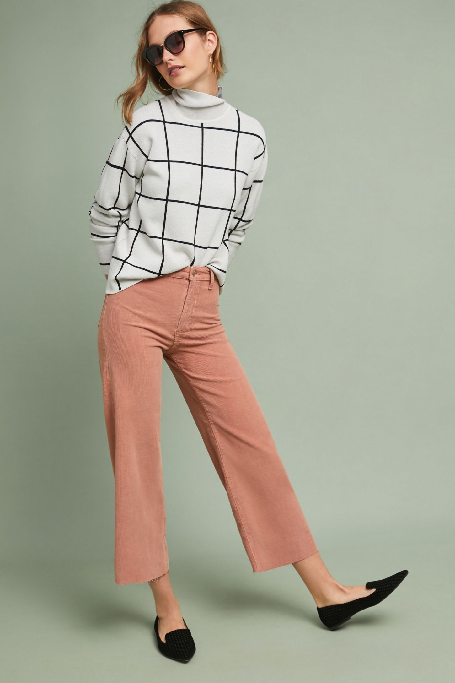 ab76857776 Joe's Corduroy High-Rise Cropped Flare Jeans | Anthropologie