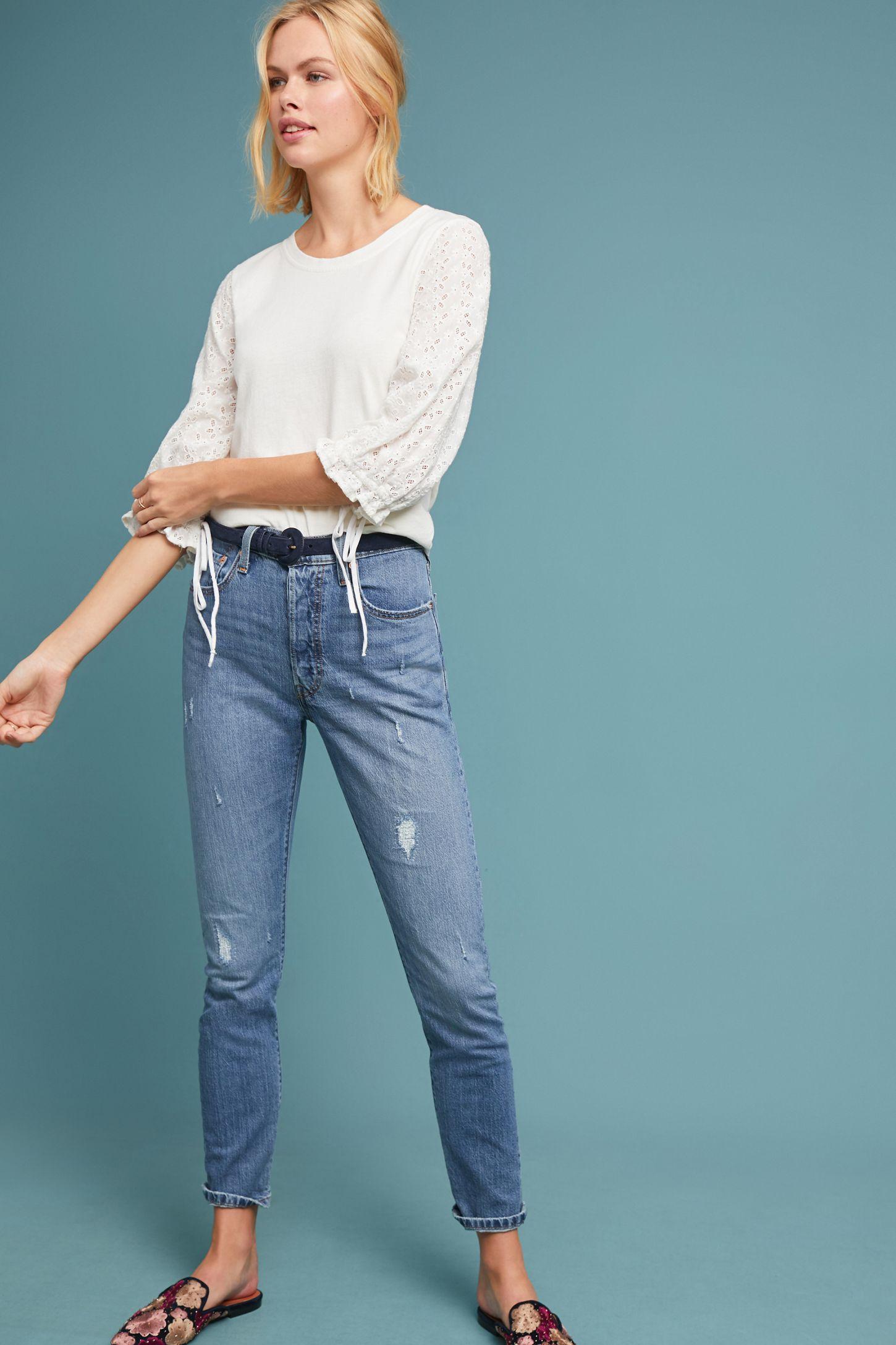 97335a3be9e Levi s 501 Ultra High-Rise Skinny Jeans