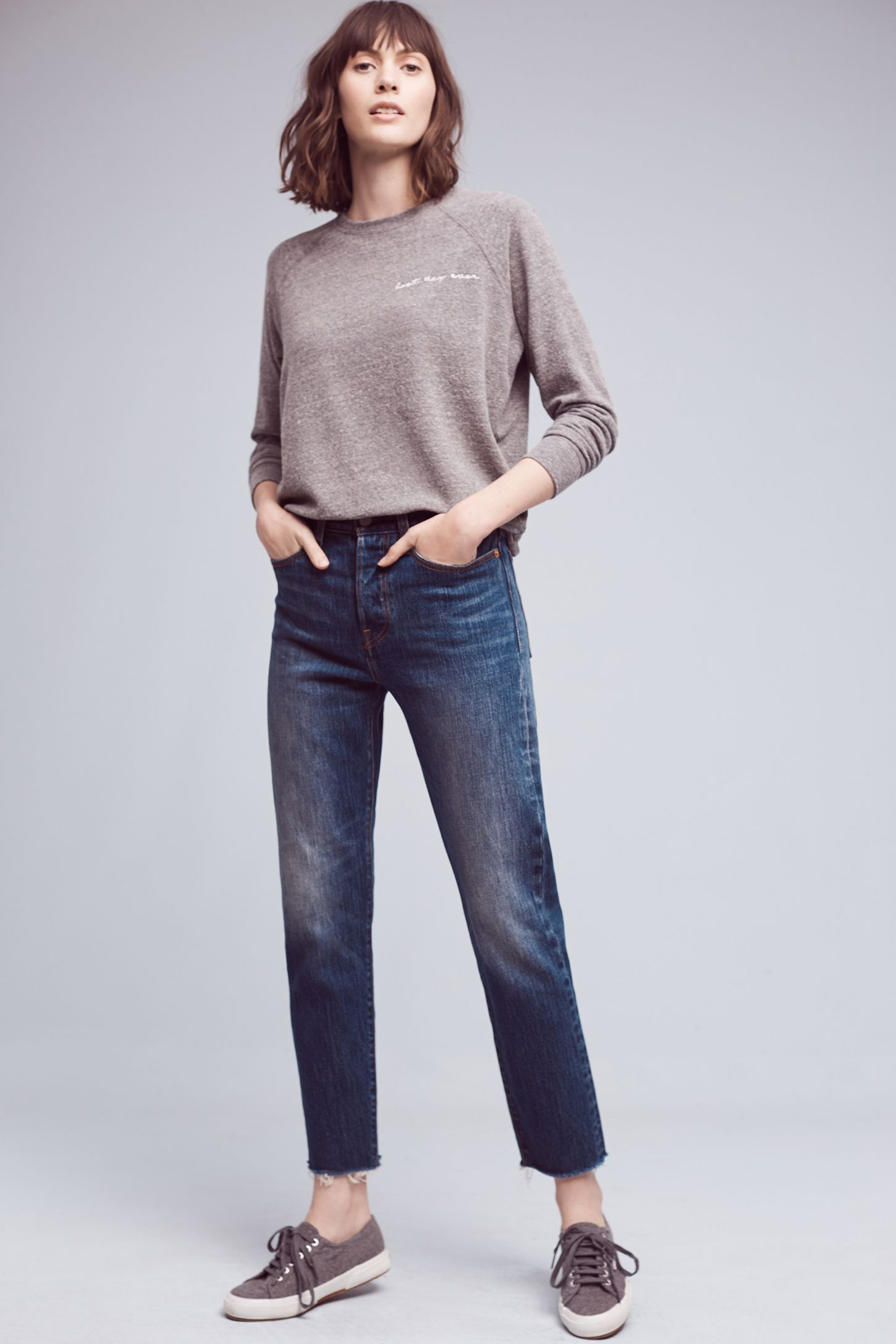 1ae3016c Levi's Wedgie High-Rise Straight Jeans | Anthropologie