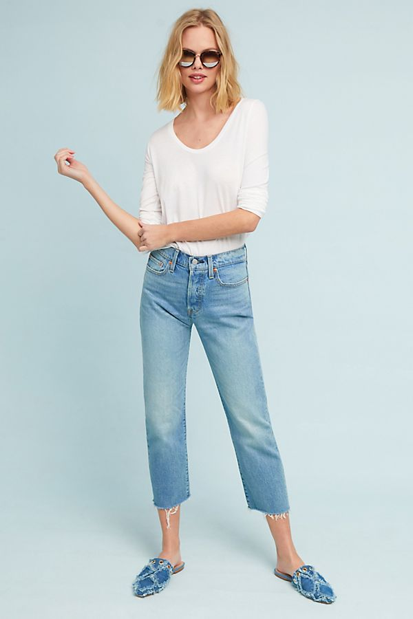 8c97e58c Levi's Wedgie High-Rise Straight Jeans | Anthropologie