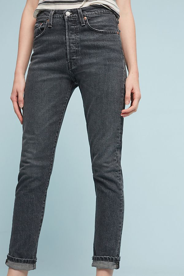 fast color another chance special price for Levi's 501 Ultra High-Rise Skinny Jeans