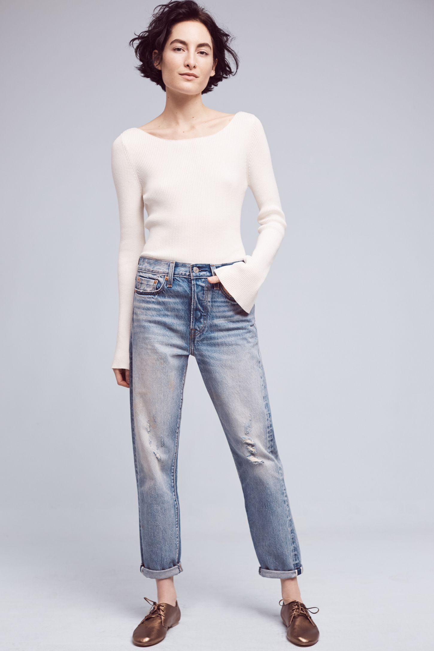 872590d603cf1 Levi's Wedgie High-Rise Straight Jeans | Anthropologie