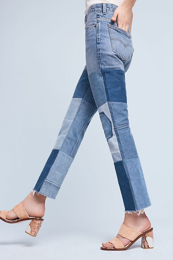 10f7f594792 Levi's 517 Ultra High-Rise Cropped Bootcut Jeans | Anthropologie
