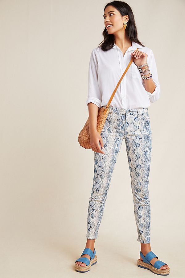 a8151443d 7 For All Mankind Mid-Rise Skinny Jeans | Anthropologie