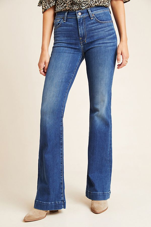 various colors buying new hot-selling authentic 7 For All Mankind Dojo Mid-Rise Bootcut Jeans
