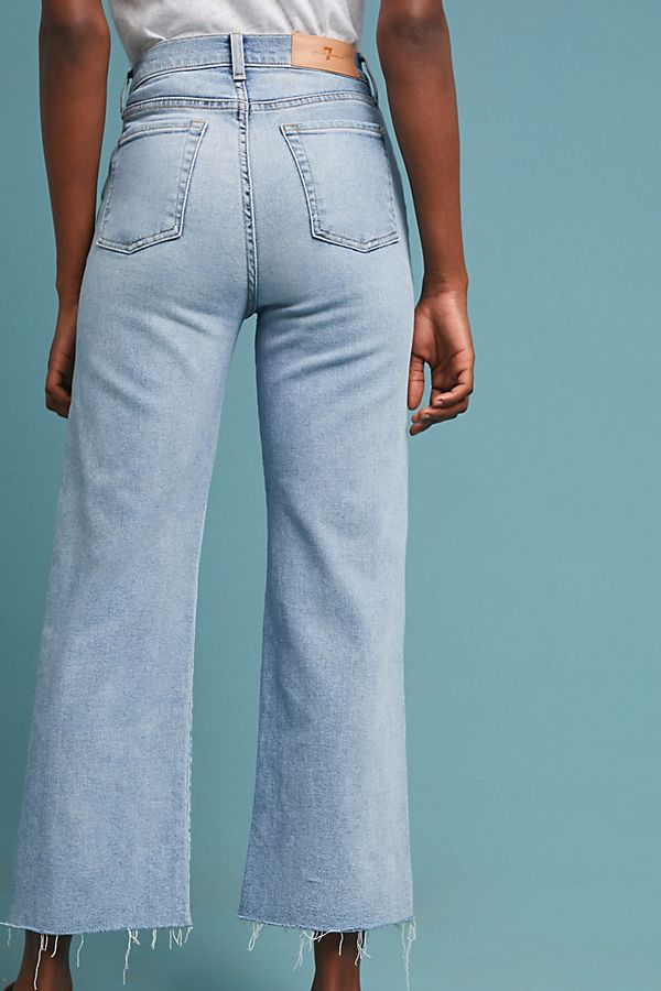 ad785781acd1 Slide View  2  7 For All Mankind Alexa High-Rise Cropped Wide-