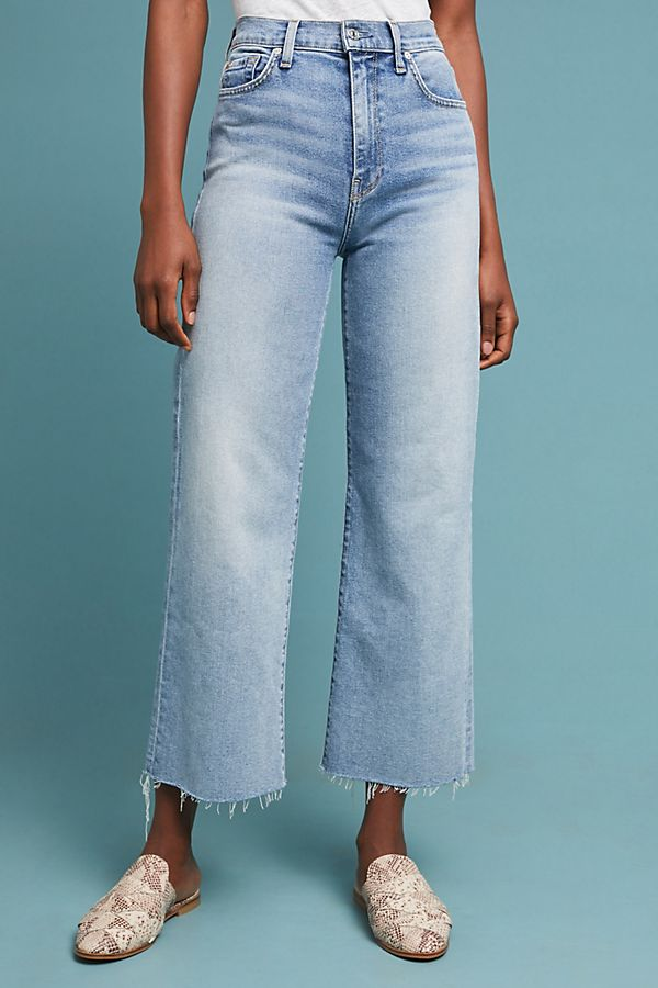 d482f9e078bc Slide View  4  7 For All Mankind Alexa High-Rise Cropped Wide-