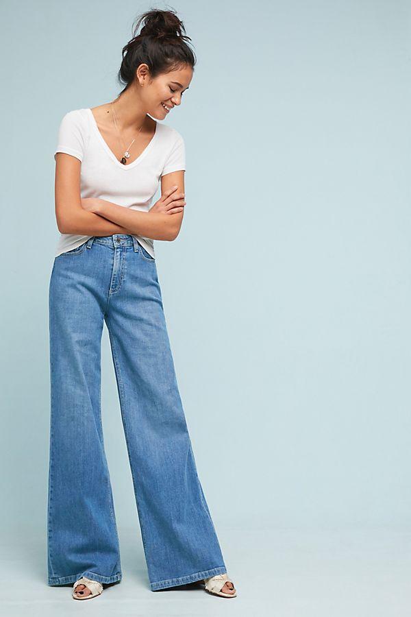 80e13b9887ac0 Paige Sutton High-Rise Wide-Leg Jeans | Anthropologie