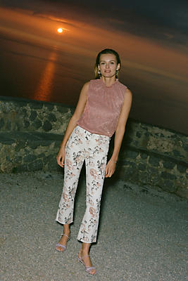 Slide View: 1: Paige Collette High-Rise Flare Jeans