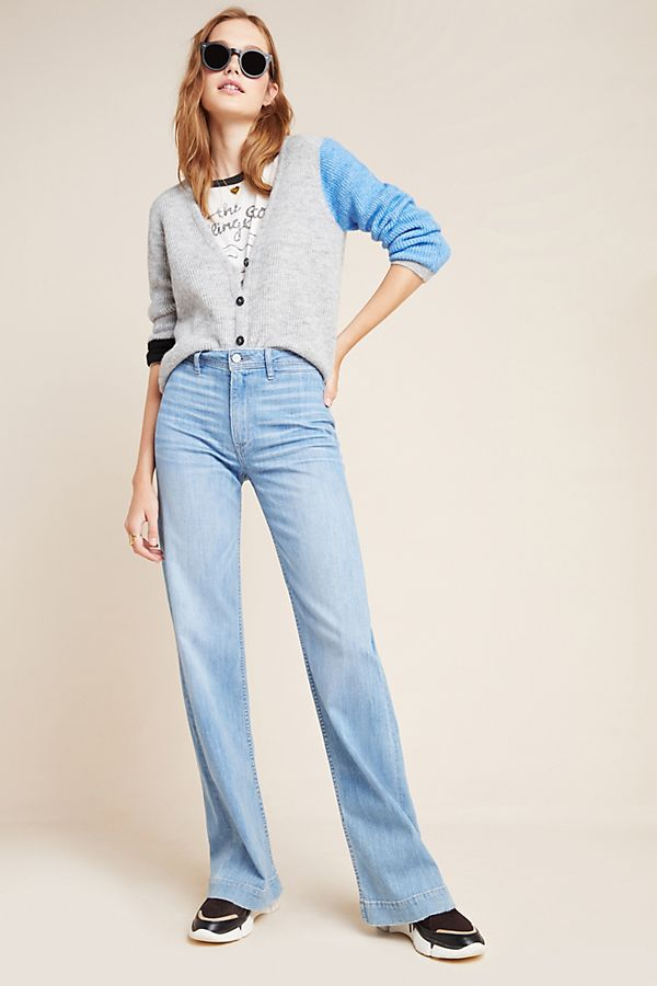 Slide View: 1: Paige Leenah High-Rise Bootcut Jeans
