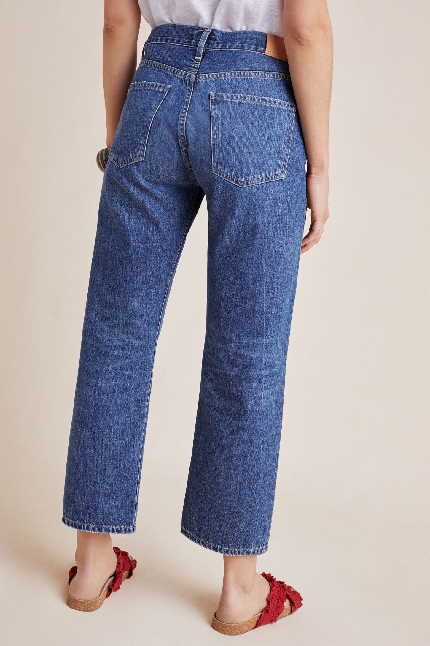 8430a8d656ac Slide View: 5: Citizens of Humanity Emery High-Rise Straight Cropped Jeans