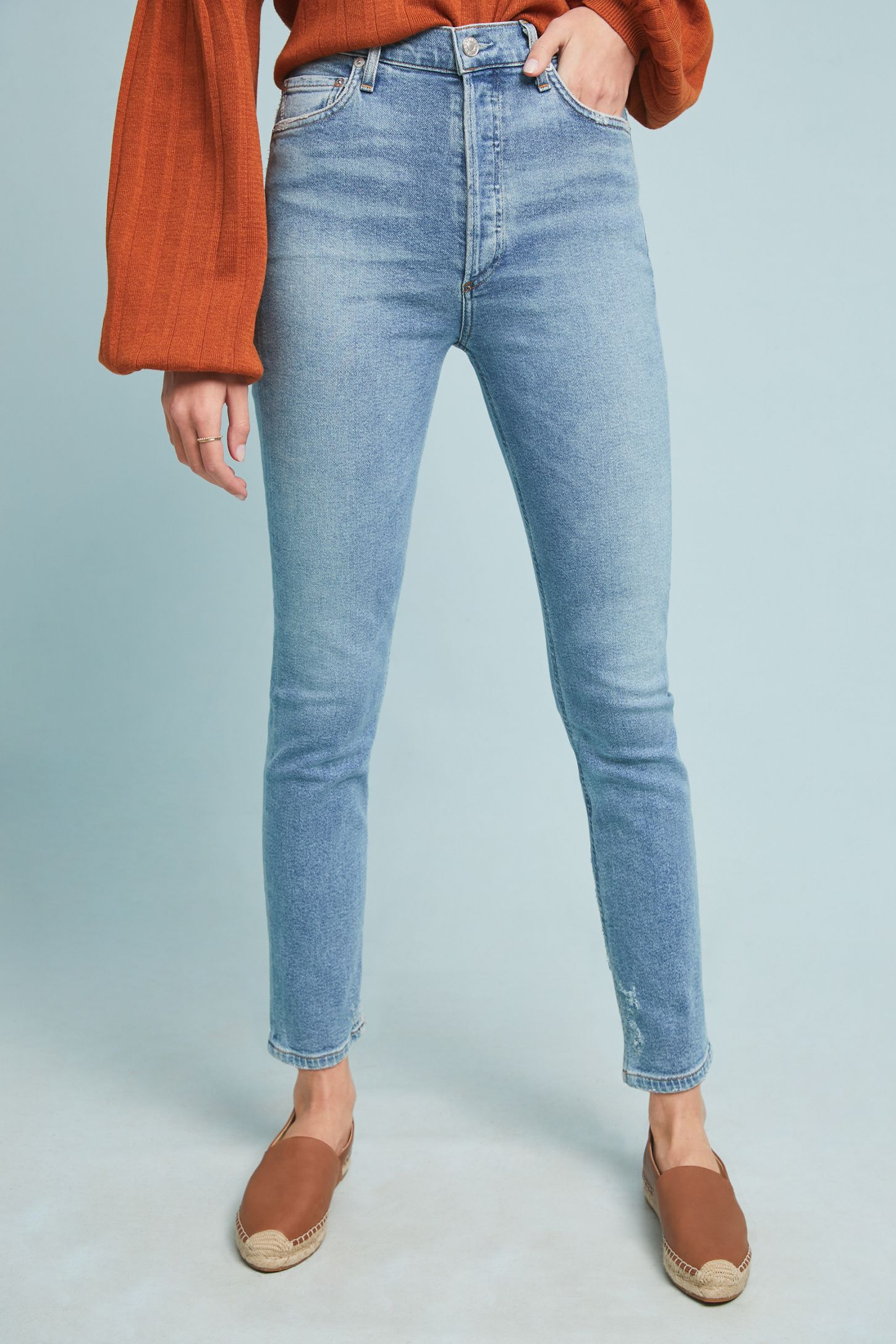 1151afe6e00 AGOLDE Nico High-Rise Skinny Jeans | Anthropologie