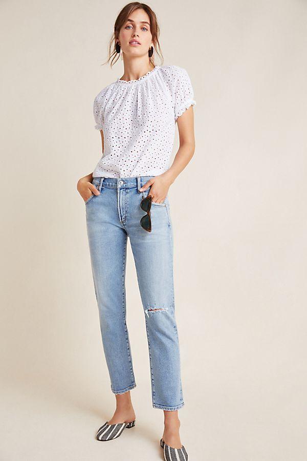 high fashion distinctive design utterly stylish Citizens of Humanity Emerson Mid-Rise Slim Boyfriend Jeans