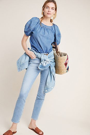 Citizens of Humanity Olivia Ultra High-Rise Slim Ankle Jeans 6051a3b86