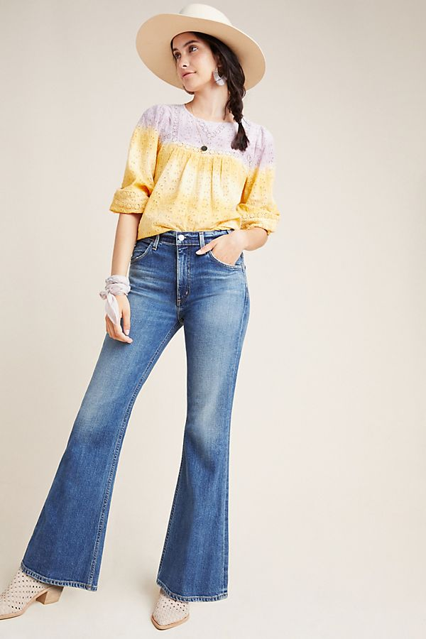 0317899f39faae Citizens of Humanity Amelia High-Rise Flare Jeans | Anthropologie