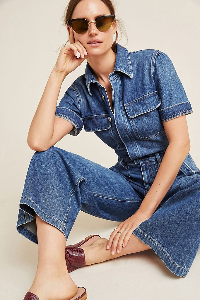 Citizens of Humanity Miki Denim Utility Jumpsuit