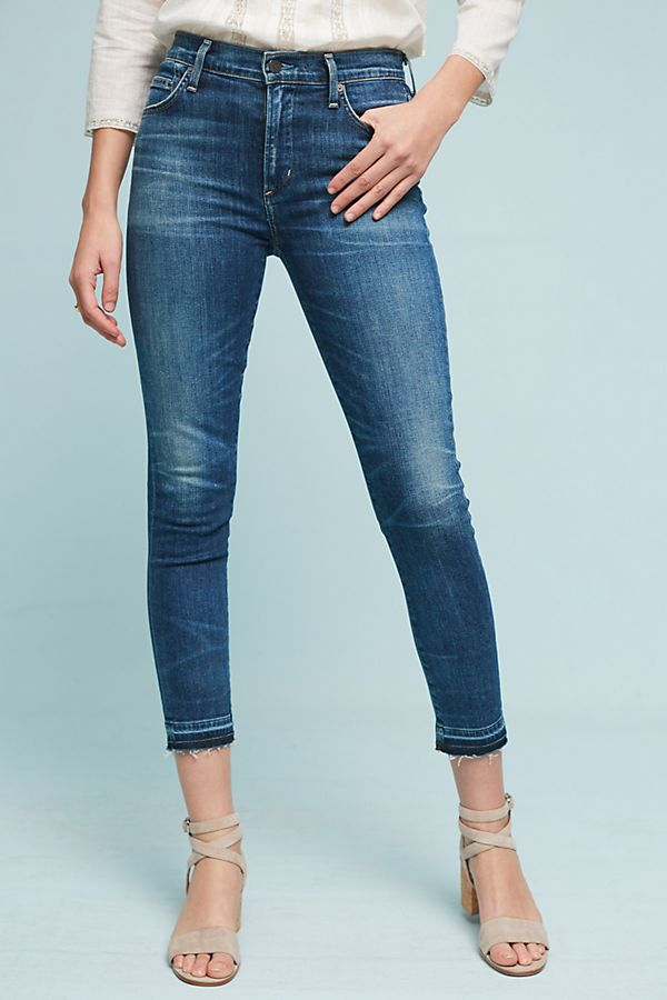 992460901539 Citizens of Humanity Rocket Crop High-Rise Skinny Jeans | Anthropologie