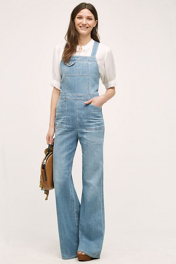2a5f4bdba3c Citizens of Humanity Katie Flare Overalls