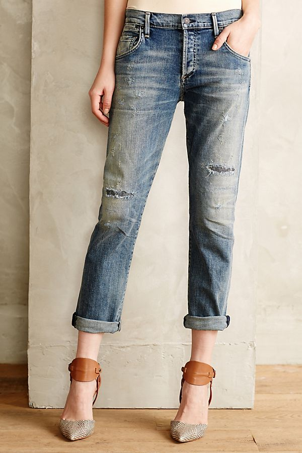 2019 real online shop 2019 real Citizens of Humanity Emerson Slim Boyfriend Jeans ...