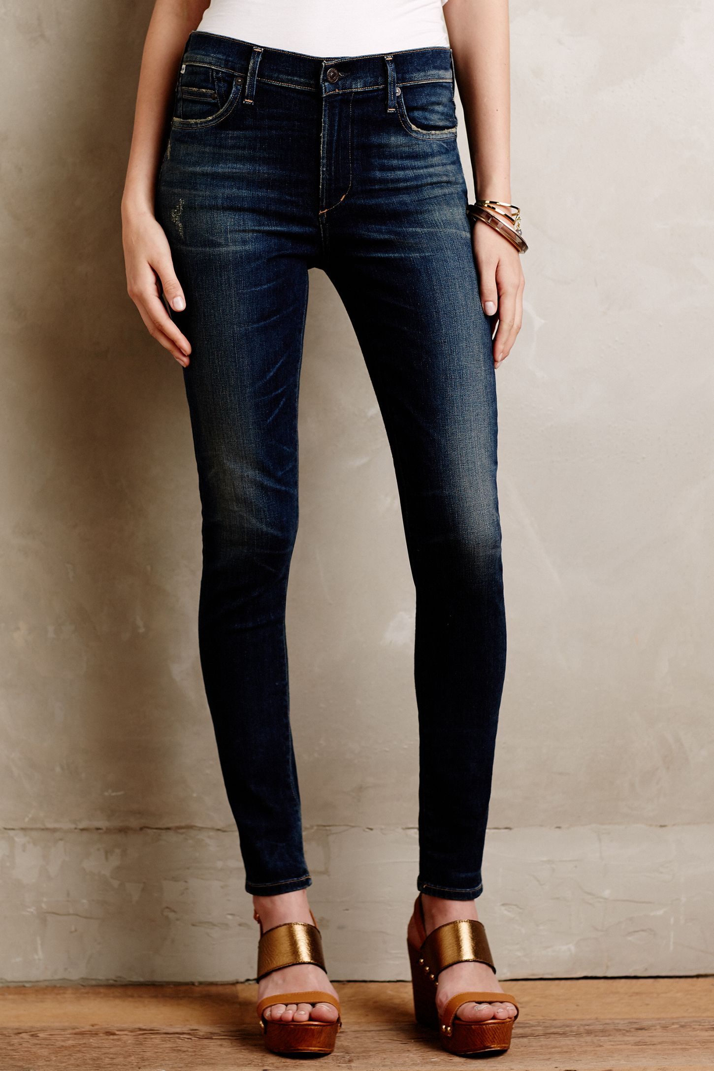 6a32054317 Citizens of Humanity Rocket High Rise Skinny Jeans | Anthropologie