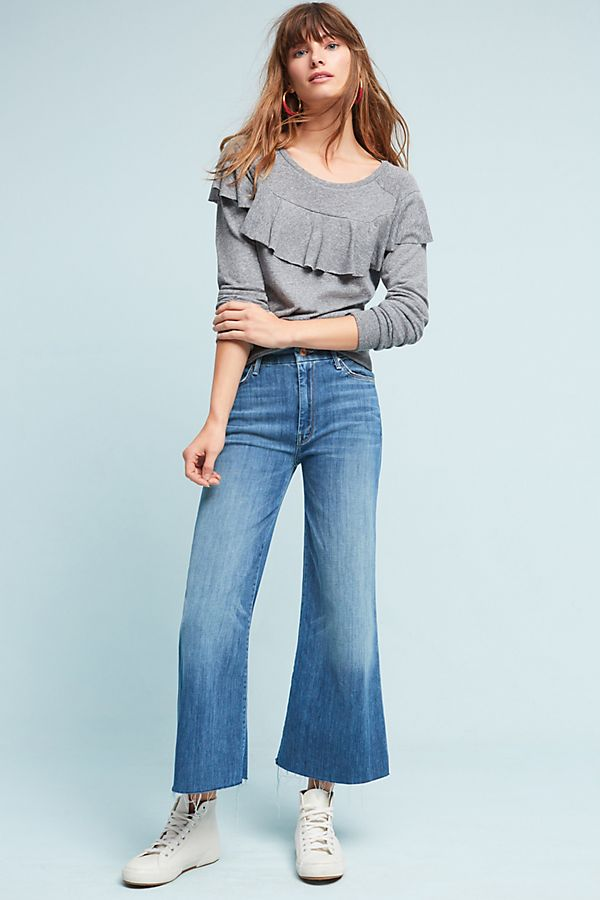 ff71f89e7f Mother The Roller Crop High-Rise Jeans | Anthropologie