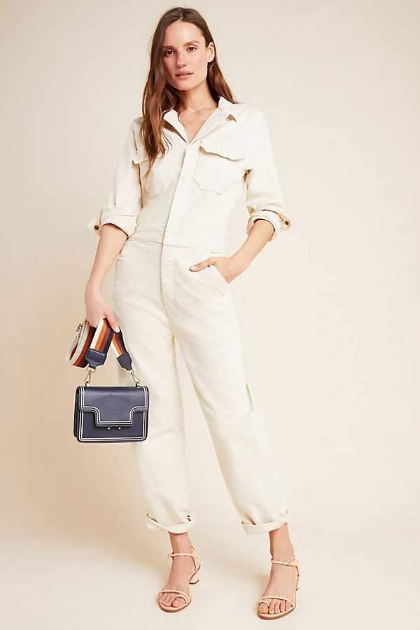Slide View: 1: MOTHER The Fixer Utility Jumpsuit