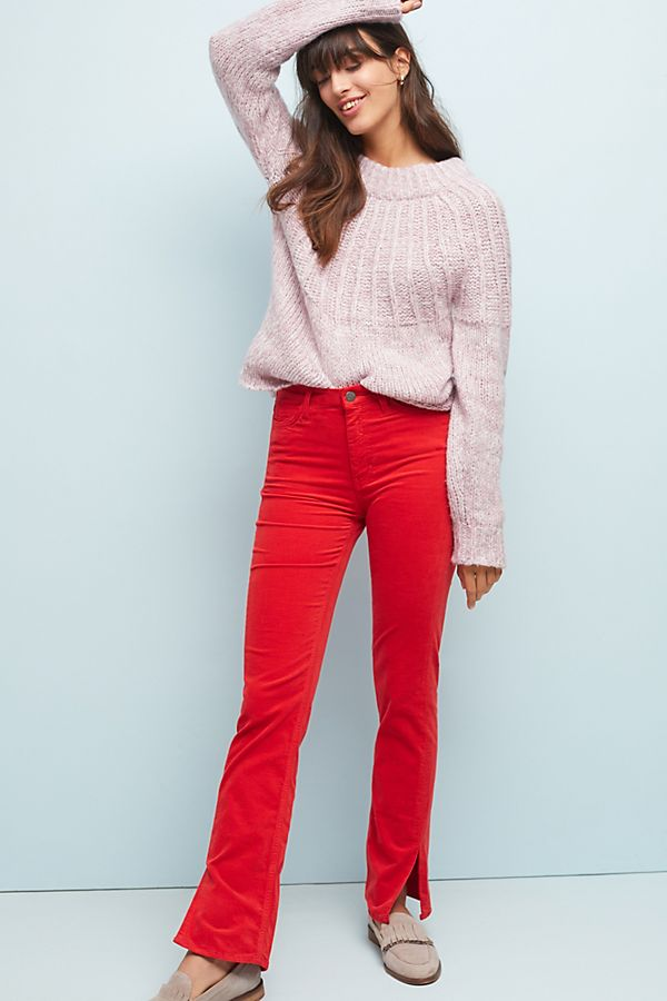 0540bed6df2e M.i.h Daily High-Rise Velvet Straight Jeans