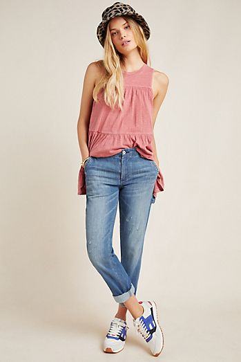 5d57a4e147c2 Cropped Jeans & Ankle Jeans for Women | Anthropologie