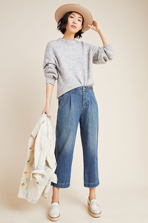 Slide View: 1: Pilcro Ultra High-Rise Relaxed Jeans
