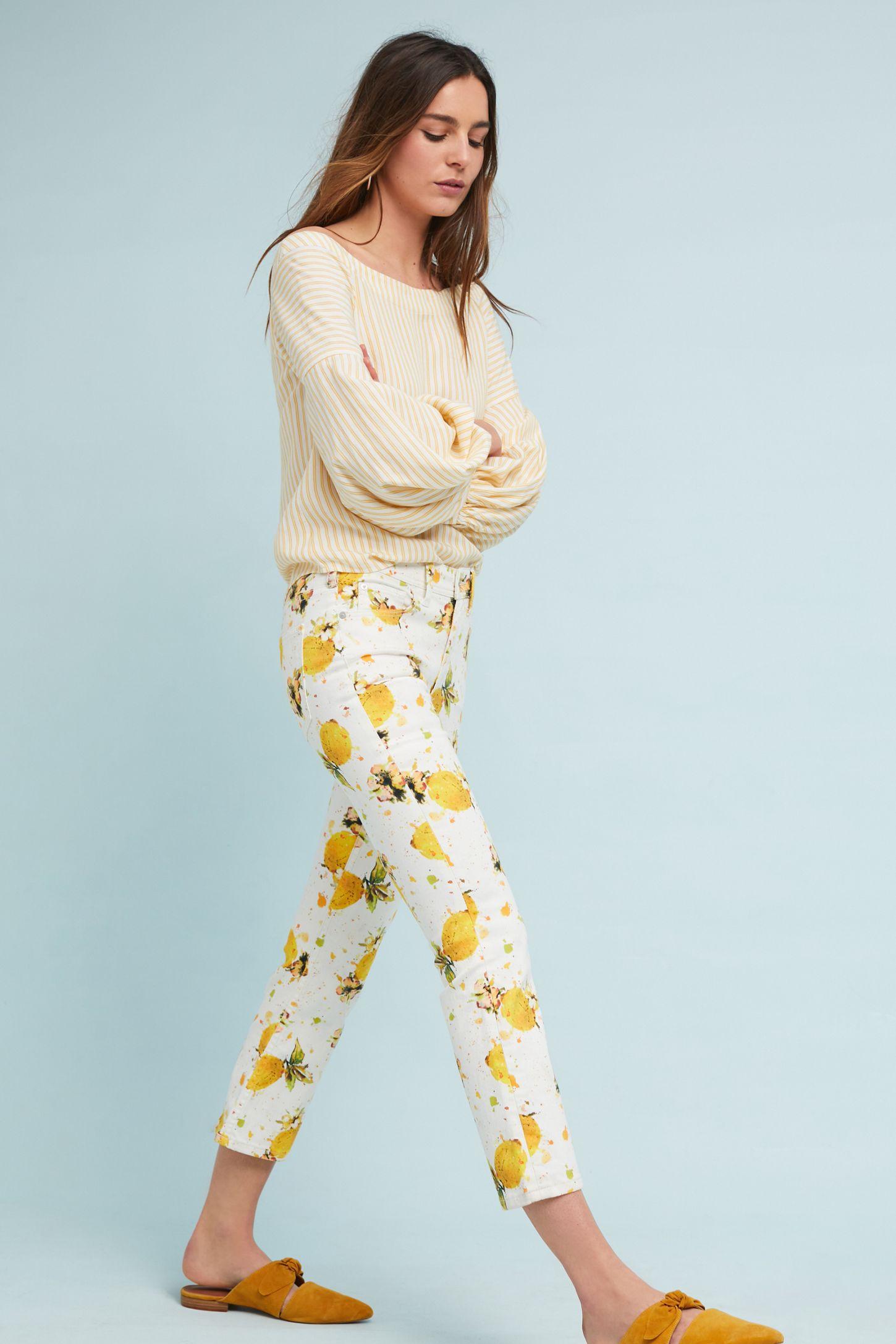 3c49fbb3d Pilcro Lemon Grove High-Rise Cropped Bootcut Jeans