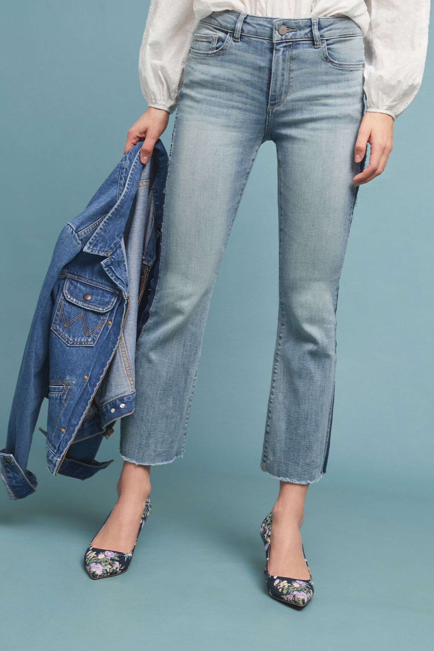 b37a58b0cac DL1961 Bridget Mid-Rise Cropped Bootcut Jeans | Anthropologie