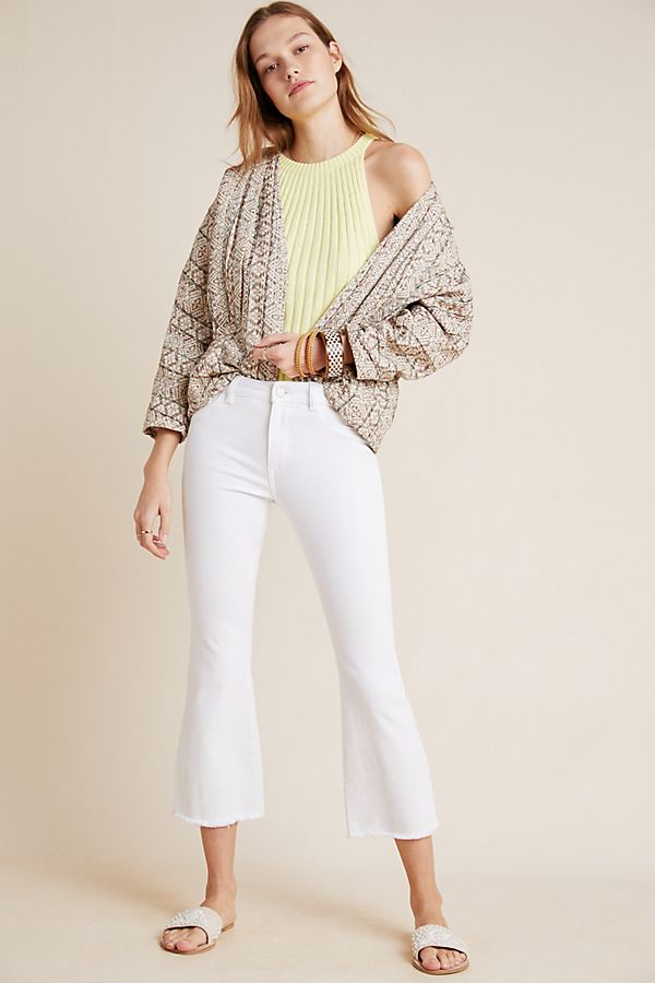 12513d63 DL1961 Bridget Mid-Rise Cropped Bootcut Jeans | Anthropologie