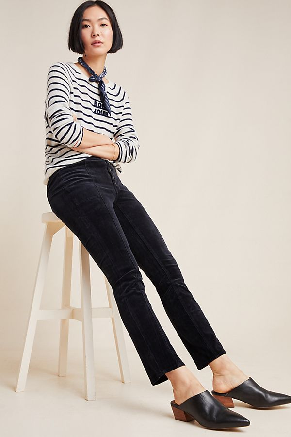 Slide View: 1: Pilcro High-Rise Skinny Corduroy Jeans