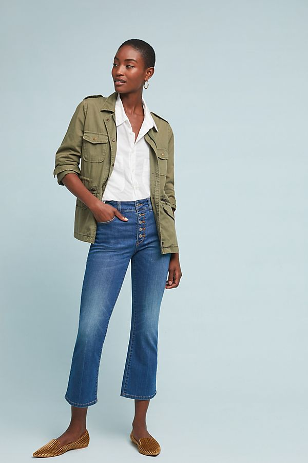 73824f61ef70 Pilcro High-Rise Cropped Bootcut Jeans