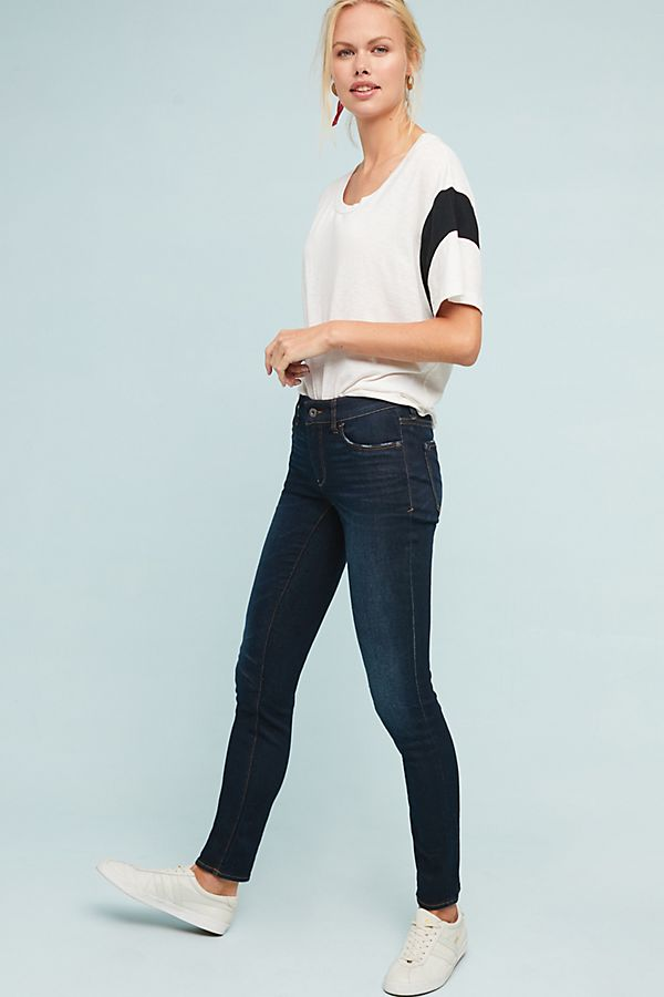 Pilcro Mid Rise Skinny Ankle Jeans