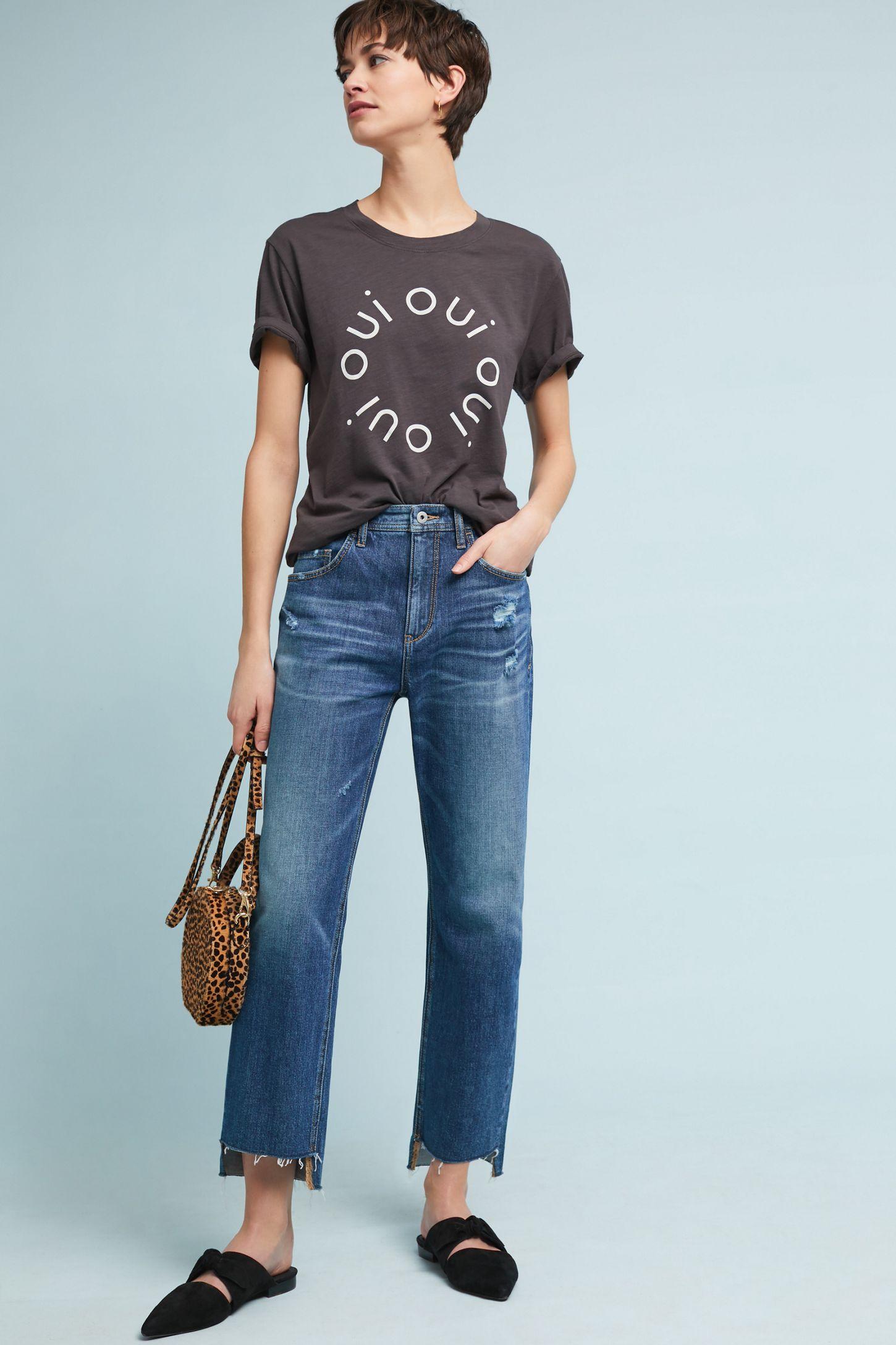20cf127131 Pilcro High-Rise Slim Boyfriend Cropped Jeans