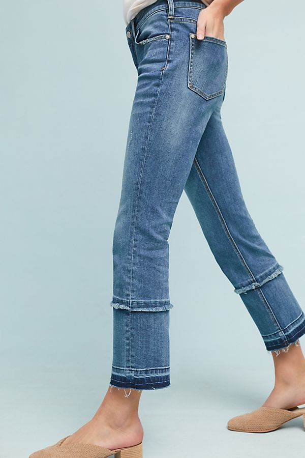 f3604771 Pilcro High-Rise Cropped Bootcut Jeans | Anthropologie