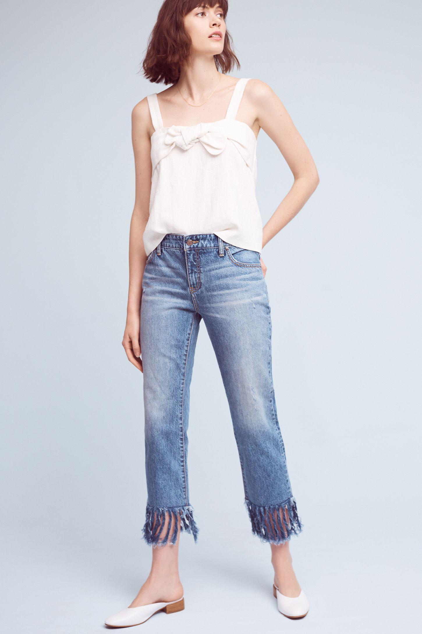8ddc6adaf4a4 Pilcro Hyphen Mid-Rise Relaxed Boyfriend Jeans