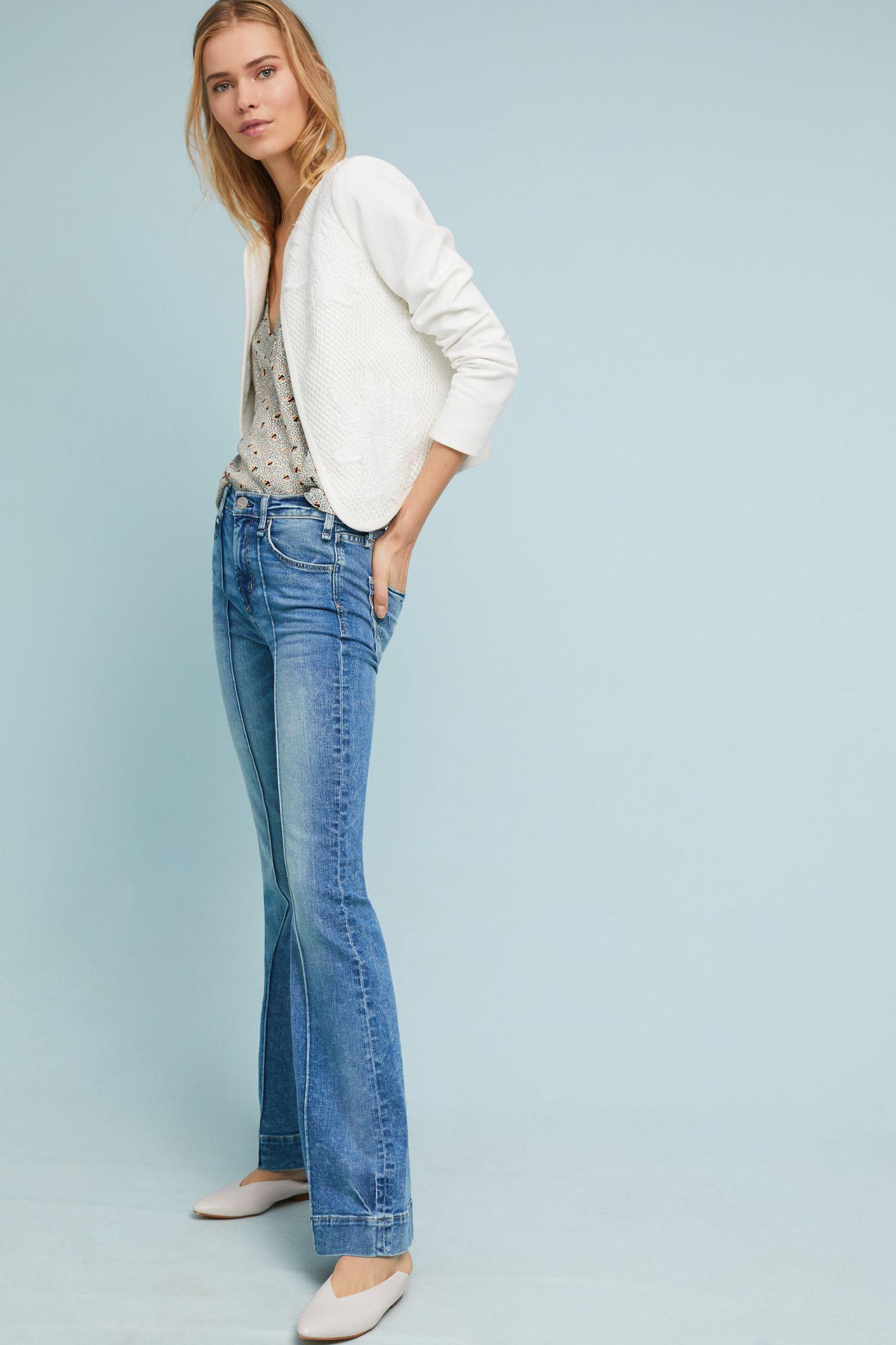 bc14a2fb9e9 McGuire Studio High-Rise Flare Jeans