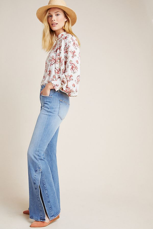 Slide View: 1: Pilcro Ultra High-Rise Bootcut Jeans