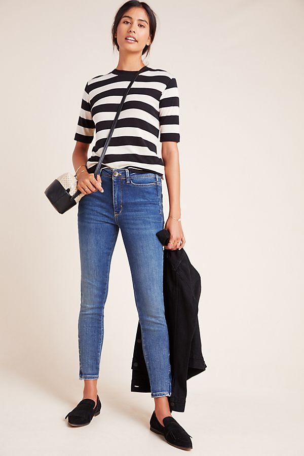 Slide View: 1: Pilcro Manna High-Rise Skinny Jeans