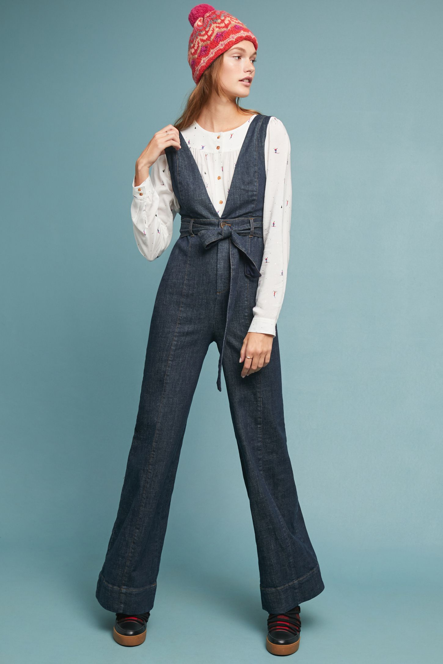 f325a4c36324 Pilcro Denim Jumpsuit
