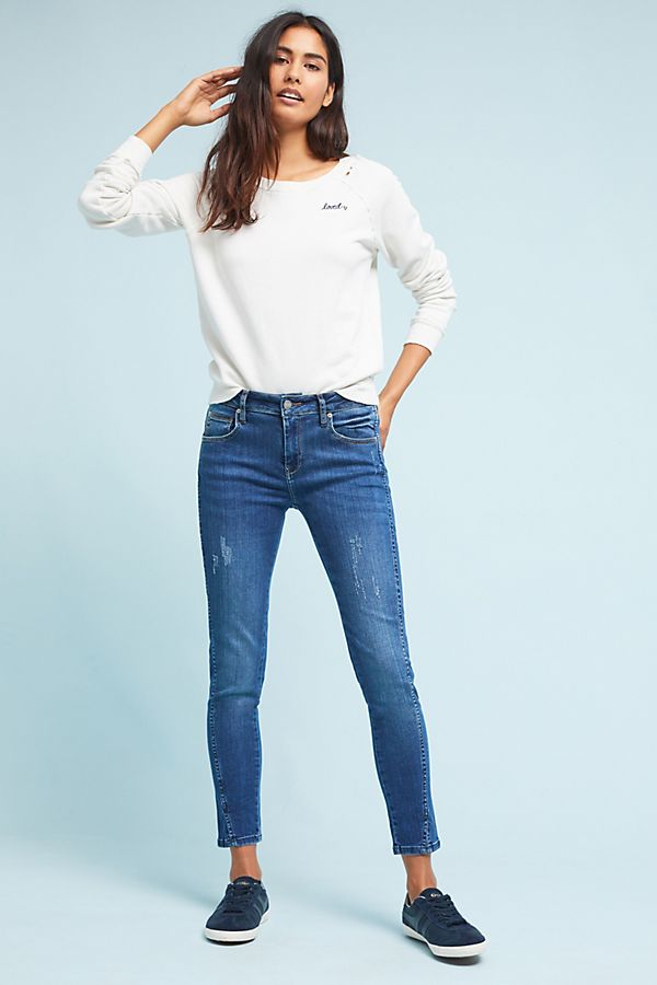39d7b7f7c104eb Reiko Low-Rise Skinny Cropped Jeans | Anthropologie