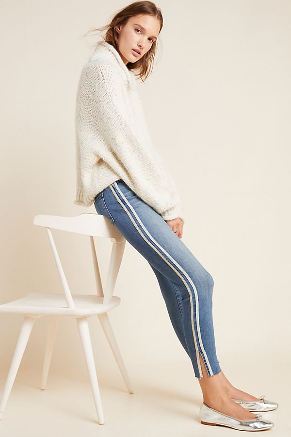 Slide View: 1: Sanctuary High-Rise Skinny Ankle Jeans