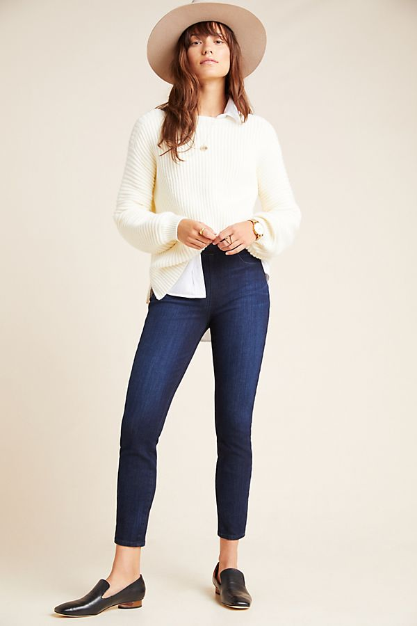 Slide View: 1: Sanctuary High-Rise Denim Leggings