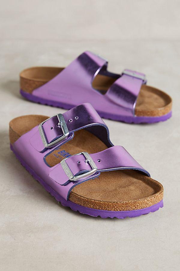 f85d95802c25 Birkenstock Metallic Arizona Sandals
