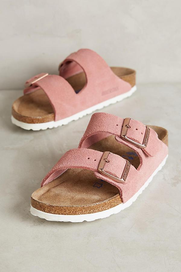 11d763ed73f1 Birkenstock Suede Arizona Sandals
